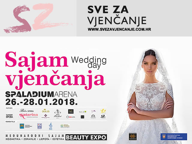 SAJAM VJENČANJA SPLIT – WEDDING DAY & BEAUTY EXPO