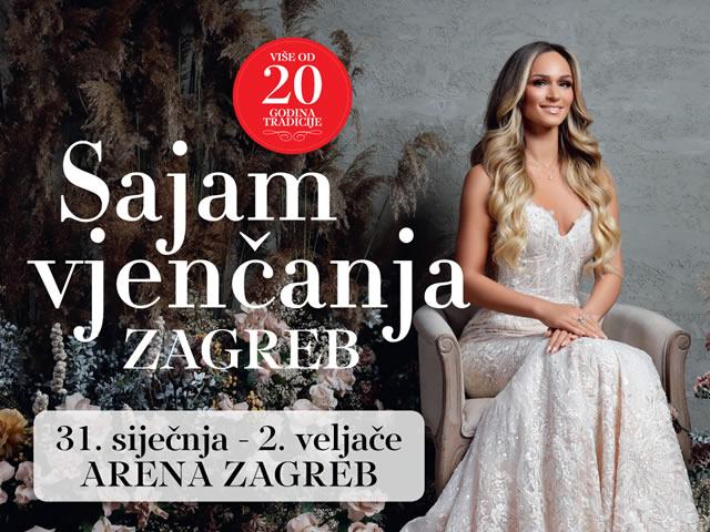 Sajam Vjenčanja Arena Zagreb 2020.
